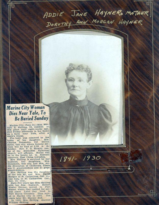 DorothyAnnMorganHayner