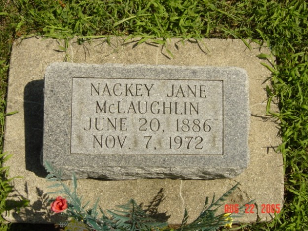 Nackey Jane Stewart McLaughlin