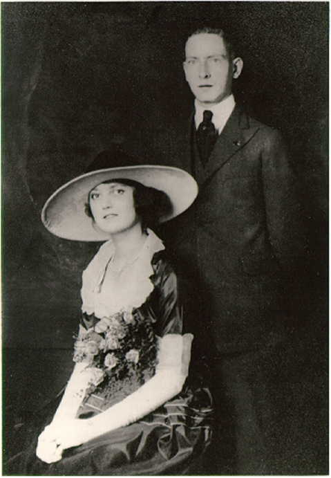 Albion Edwin and AdaCawthorne Marriage