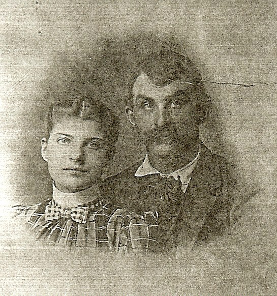Margaret and Silas Dinsmore 1899