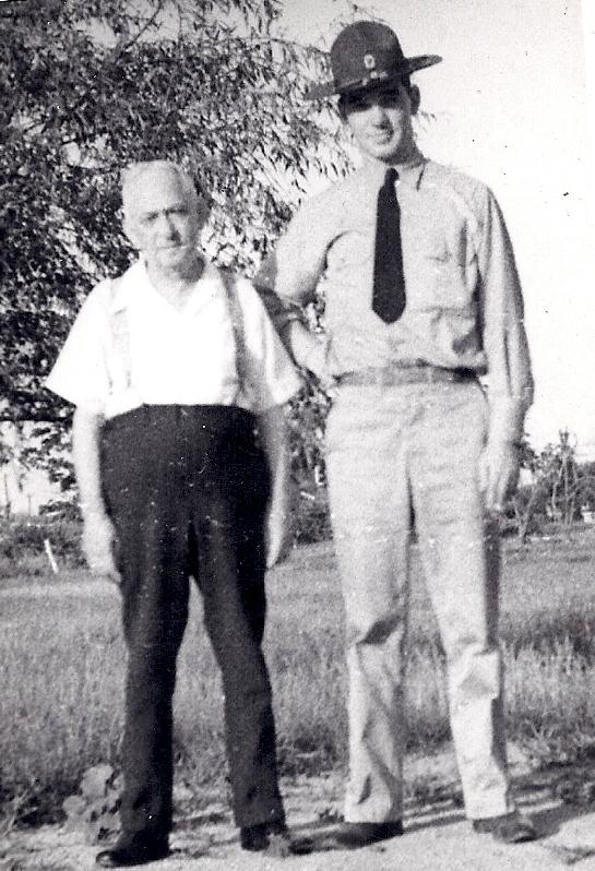 Russell Hayner and son Russell Robert Bradley