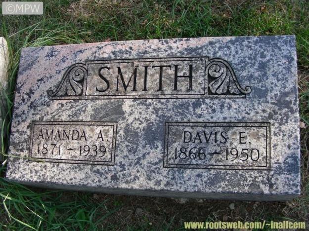 Smith Amanda A and Davis E